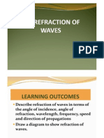 6.3 Refraction of Waves