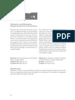 González, Ignacio Siles. Cibernética y Sociedad de La Información - El Retorno de Un Sueño Eterno