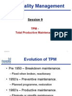Week 09 Reliability TPM New Lecture