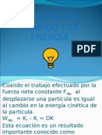 Teorema Del Trabajo y La Energia