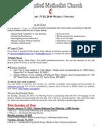 20100117 Announcements Print