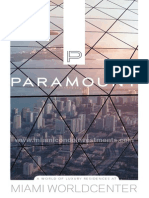 Paramount Miami Worldcenter Condos Brochure