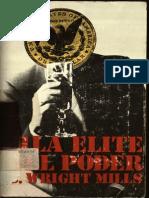 Mills- La Élite Del Poder (L)