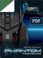 DRAGON WAR ELE-G4 PHANTOM GAMING MOUSE