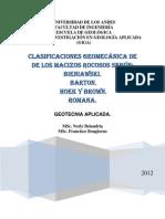 CLASIFICACIONES GEMECANICAS
