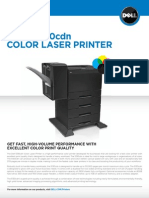 Dell 5130cdn Color Laser Printer Brochure