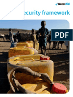 WATERAID Water Security Framework