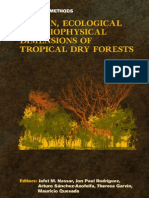 Manual of Methods Tropical Dry Forest Research