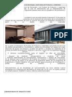 Laboratorios de Tecnología Arquitectura