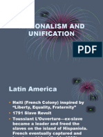 Nationalism and Unification