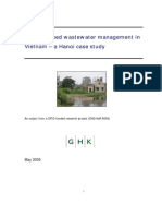 Wastewater Management in Hanoi
