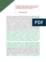 El Uso de Tres Químicos Bucle Reactores en Proceso de Producción de Amoníaco e a Configuración de La Planta Nueva Para Una Producción Verde
