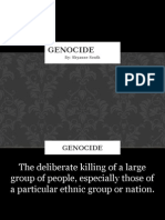 history final- genocide