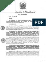 Protocolo de Monitoreo Norma Publicada