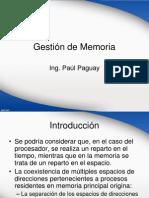 Gestión de Memoria