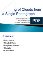 Photo Cloud Modeling