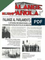 Falange Española nº 2. 30 de Abril de 1987.