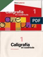 Cuadernos Santillana Caligrafia 1358