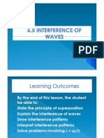 6.5 Interence of Waves