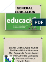 Ley General de Educacion