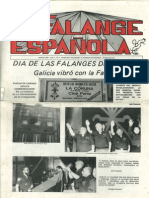 Falange Española nº 1. Marzo 1987.