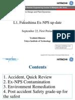 Fukushima up-date