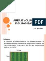 Área e Volume Das Figuras Básicas