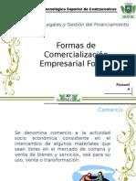 formas de comercialización empresarial formal