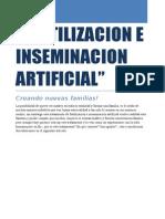 Fertilizacion e Inseminacion Artificial