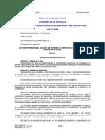 Ley Laboral Juvenil 2014