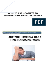 How to Use Hoosuite To Manage Your Social Networks