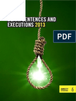 Death Sentences and Executions 2013 (Amnisty International)