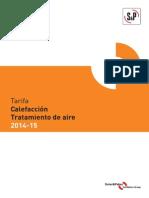 Tarifa 2014-15 s&p Calefaccion