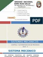 SISTEMAS MECANICOS