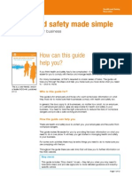 Health and Safety Made Simple - The Basics for Your Business .