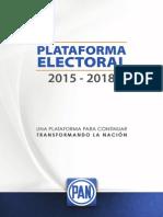 PAN Plataforma Electoral 2015