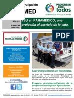 04-2013. TSU en Paramédico. Una Profesión Al Servicio de La Vida.