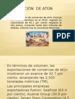 Exportación de Atún