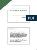 Regulasi Pangan Di Indonesia Copy