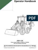 JCB 4cx TRANSMISSION