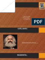 Teoria de Karl Marx y Hegel