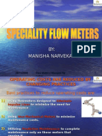 Speciality Flow Meters