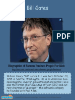 Bill Gates - Famous Business People For Kids  – Mocomi.com