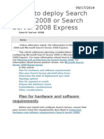 Plan to deploy Search Server 2008 or Search Server 2008 Express.docx