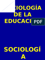 Sociologia de La Ed Power
