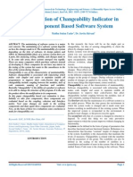IJARTES-V2-I1-001,Evaluation of Changeability Indicator in Component Based Software System