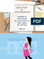 CASE STUDY Ppt of Polyhydramnios