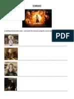 Stardust Movie Worksheet