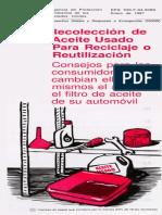 Aceite de Carro Reciclaje PDF