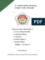 MKALAH POLINOMIAL